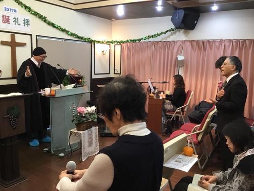 ◆聖誕礼拝2017,12,24◆